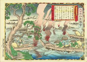 広重三代/大日本物産図会 能登国 鯖釣之図のサムネール