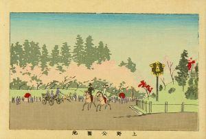 安治/東京真画名所図解 上野公園地のサムネール