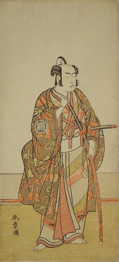 SHUNSHO Full-length portrait of the actor Arashi Sangoro
