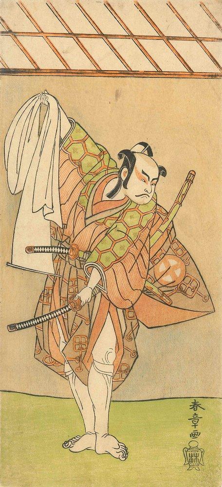 SHUNSHO Portrait of the actor Otani Hiroji III
