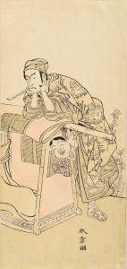 春章/二世嵐三五郎のサムネール