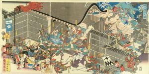芳虎/堀川夜討之図のサムネール