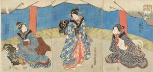 豊国三代/美人鶏合のサムネール