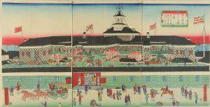 芳藤/東京築地ホテル館之図のサムネール