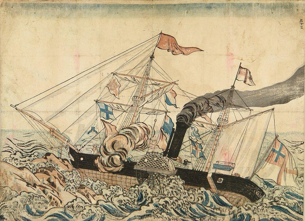 長崎版画 ストーンボート