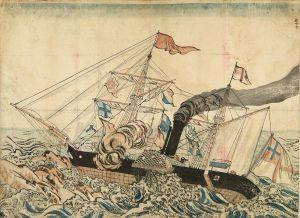 長崎版画/ストーンボートのサムネール