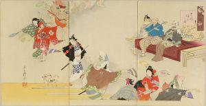 耕涛/古代風俗 元禄踊里之図のサムネール