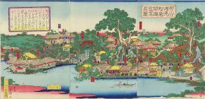 国輝/四ツ谷伝馬町新開遊覧写真図のサムネール