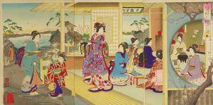 勝月/貴婦人礼式の図のサムネール