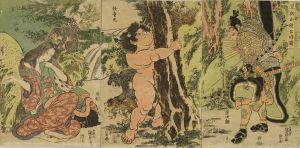 国貞/足柄山得公時図のサムネール