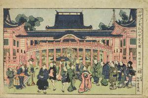国安/浮絵 江戸東叡山中堂之図のサムネール