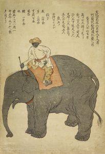 長崎版画/文化十年阿蘭陀船持渡牡象のサムネール