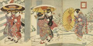 国貞/三圍の初雪のサムネール