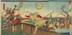芳年/大阪夏御陣 御危難之図のサムネール