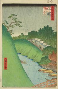 広重/名所江戸百景 昌平橋聖堂神田川 初刷のサムネール