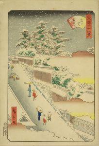 広重二代/東都三十六景 霞ヶ関雪中のサムネール