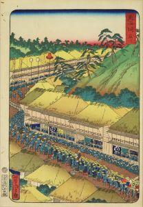 芳虎/東海道 (御上洛東海道) 藤川のサムネール