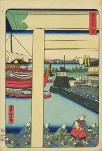 芳虎/東海道 (御上洛東海道) 宮のサムネール