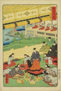 芳盛/東海道之内 (御上洛東海道) 京都御出立のサムネール