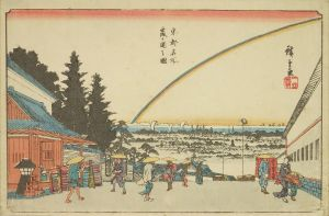 広重/東都名所 霞ヶ関之図のサムネール