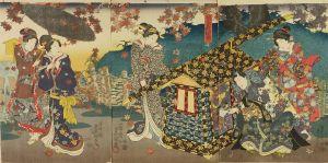 豊国三代/紅葉笠糸乃綾琴のサムネール