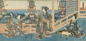 豊国三代/時世花鳥風月 鳥のサムネール