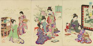 周延/倭風俗女禮式のサムネール