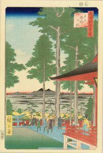 広重/名所江戸百景 王子稲荷の社のサムネール