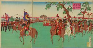 国寿/陸軍観兵式図のサムネール