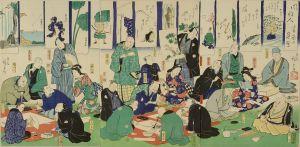 広重二代/風雅人書画の集会のサムネール