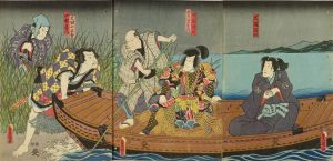 豊国三代/里見八犬伝のサムネール
