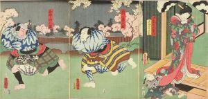 豊国三代/「宿桜瓢箪ネ幕」のサムネール