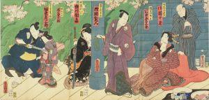 豊国三代/「主水桜実録白糸」のサムネール