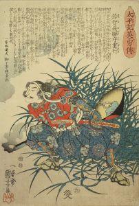 国芳/太平記英雄傳 廿八 鈴智飛騨守重行のサムネール