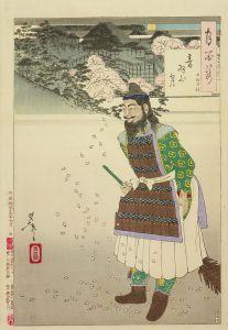 芳年/月百姿 音羽山月 田村明神のサムネール