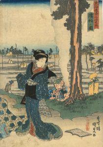 国貞/東海道五十三次之内 浜松之図のサムネール