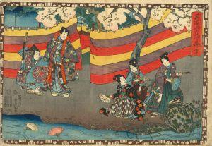 豊国三代/其姿紫の写絵 40 御法のサムネール