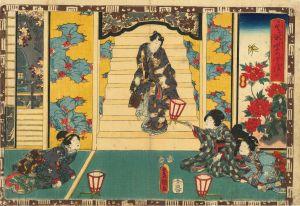 豊国三代/其姿紫の写絵 30 藤袴のサムネール