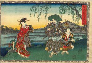 豊国三代/其姿紫の写絵 26 常夏のサムネール