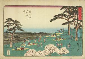 広重/江戸名所 飛鳥山花見之図のサムネール