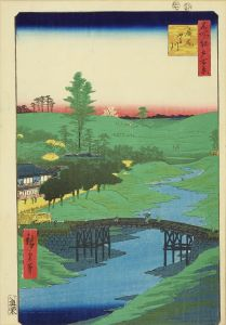 広重/名所江戸百景 広尾ふる川のサムネール