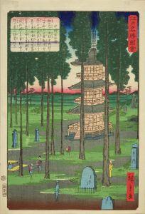 広重二代/江戸名勝図会 中野宝仙寺のサムネール