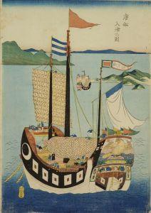 長崎版画/唐船入津の図のサムネール