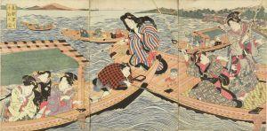 国安/東都深川沖釣之図のサムネール
