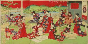 房種/皇后宮様蚕製糸場御遊覧之図のサムネール