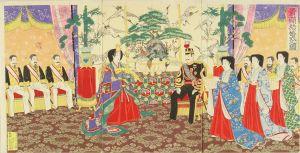 楊斎/貴顕結婚式之図のサムネール
