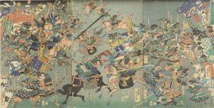 芳虎/湊川大合戦之図のサムネール