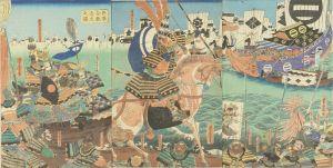芳虎/兵庫合戦遠矢之図のサムネール