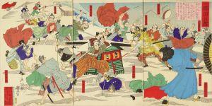 豊宣/近世桜田の雪のサムネール