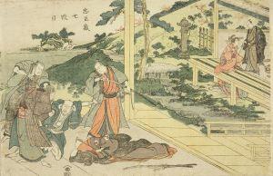 豊国/忠臣蔵 七段目のサムネール